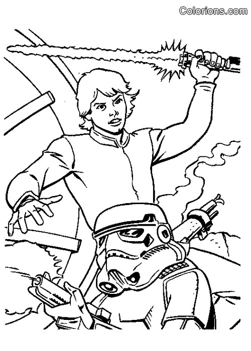 Coloriage star wars lego - Coloriage magique star wars ...