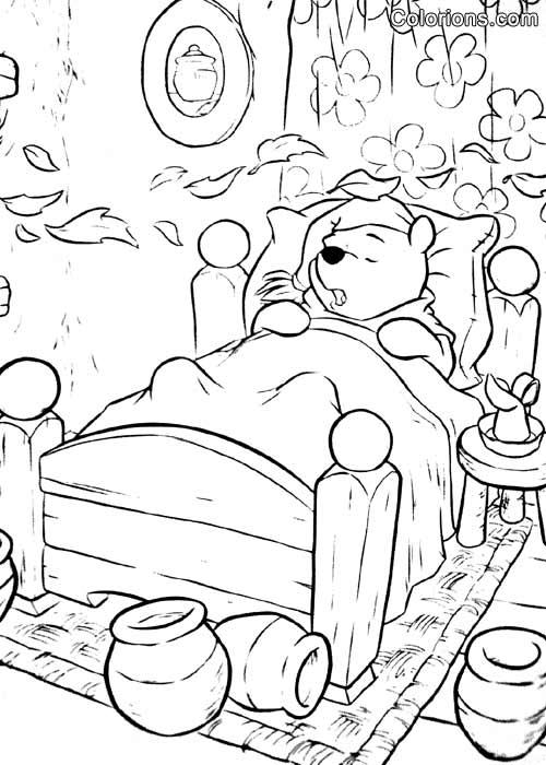 coloriage winnie tigrou porcinet sur un arbre imprimer et pictures to pin on pinterest. Black Bedroom Furniture Sets. Home Design Ideas
